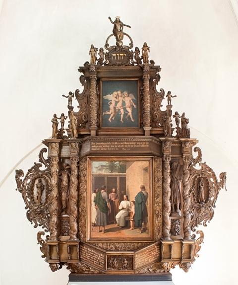 Altertavle, o. 1650
