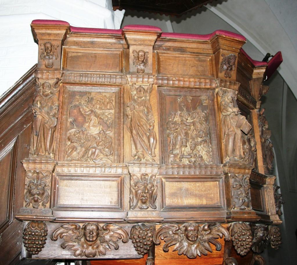 Hans Nielsen Bangs prædikestol i Assens Kirke