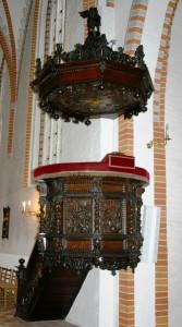 Prædikestolen i Skt. Hans Kirke, Odense (e.1670)