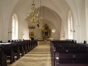 Det indre af Vor Frue Kirke.