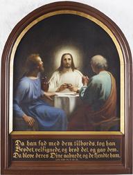 Kristus i Emmaus 1870, Korup Kirke