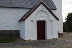 Våbenhuset i Fovsing Kirke