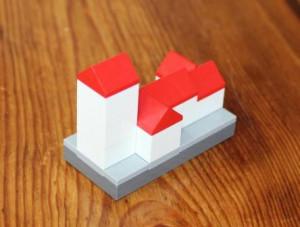 Brønshøj Kirke opført af Lego