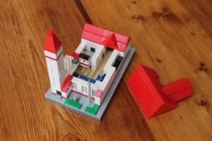 Kingos Kirke opført af Lego