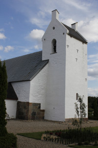 Tårnet set fra nordvest.