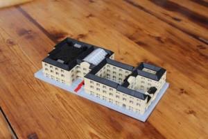 Nationalmuseets hovedsæde, Prinsens Palæ, opført i Lego